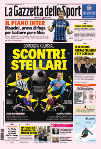 "Juventus-Fiorentina e Napoli-Roma: ""scontri stellari"""