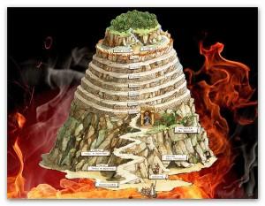 """Il purgatorio """"raffigurato"""" nella Divina Commedia"""