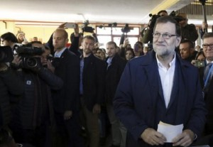 Elezioni Spagna: Rajoy in testa, Podemos insegue