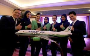 Rayani Air, hostess col velo e no alcol: aerei della sharia