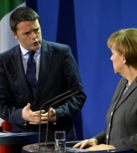 """Vertice Ue, Renzi a Merkel: """"Non dite che donate il sangue"""""""