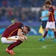 Dzeko alla fine di Roma-Bate Borisov