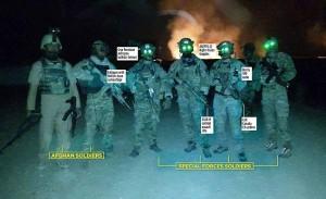 FOTO - Sas, forze speciali,  raid notturno contro i Talebani