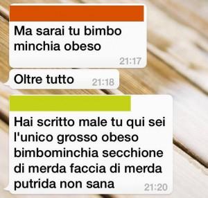 Bullismo su Whatsapp: preside pubblica messaggi su Facebook
