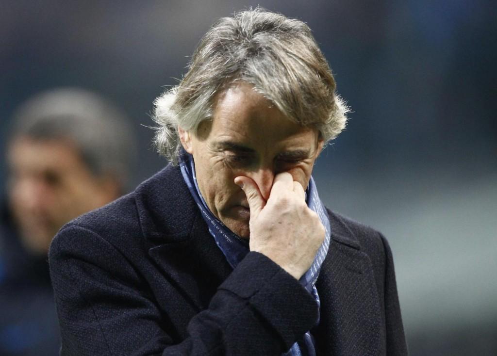Inter, lite Mancini-Jovetic: tensione dopo sconfitta Lazio