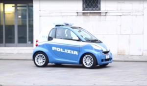 Smart della polizia presentata a Brescia