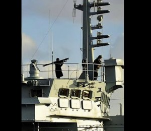 Nave guerra russa nel Bosforo, Turchia infuriata