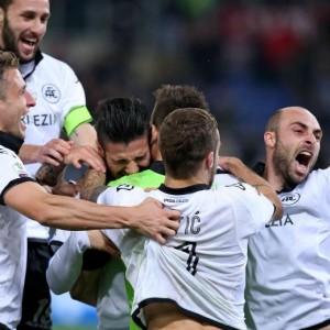 Rigori, Roma-Spezia 2-4 in Coppa Italia
