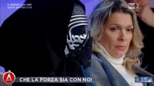 VIDEO Agorà, nello studio un ospite...da Star Wars