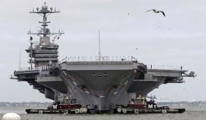 Guarda la versione ingrandita di La portaerei americana Truman