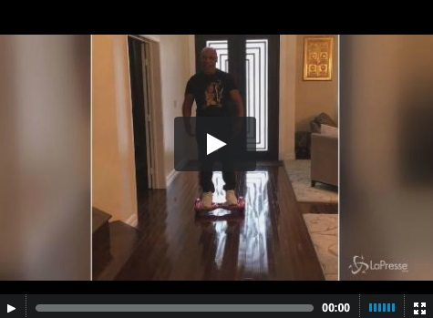 VIDEO Mike Tyson messo ko...dall'hoverboard