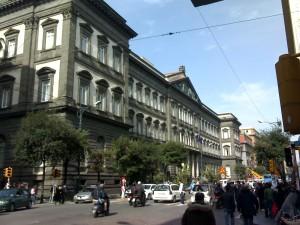 Napoli, crolla palazzina Veterinaria: animali in strada