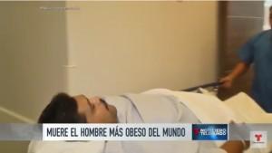 YOUTUBE Morto Andres Moreno, più grasso del mondo: 444 kg