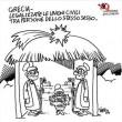 Grotta Betlemme senza Maria ma con… su vignetta Vauro è bufera 01