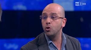 Checco Zalone imita Massimo Gramellini da Fazio