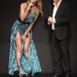 Belen Rodriguez per Guess FOTO: abito col doppio spacco 06