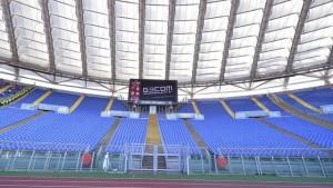 Daspo in aumento, stadi vuoti: -39% Roma, Lazio -13%