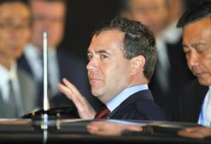 Dmitri Medvedev (foto Ansa)