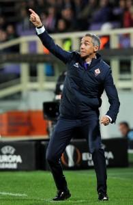 Guarda la versione ingrandita di Diretta, Fiorentina - Torino: Sousa nella foto LaPresse