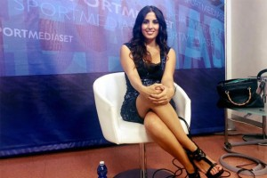 Francesca Brienza, ospite di Tiki Taka