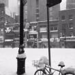 Tempesta Jonas, costa est sotto neve. Sole a Ny4