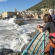 YOUTUBE Genova, mareggiate a Boccadasse e in Liguria 614
