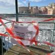 YOUTUBE Genova, mareggiate a Boccadasse e in Liguria FOTO5