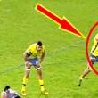 """Giocatore spintona arbitro: """"mi copri la visuale""""5"""