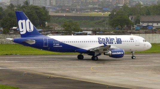 Allarme bomba in volo, atterraggio emergenza per aereo GoAir