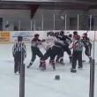 Hockey, rissa coinvolge 8 giocatori e un arbitro3