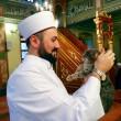 Istanbul, imam apre moschea ai gatti randagi1