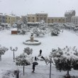 Maltempo: neve a Pescara, Molise, Marche e Puglia11