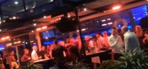 YOUTUBE Manchester, Capodanno: maxi-rissa al ristorante chic