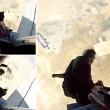 Paracadutista impigliato nella cintura di sicurezza3