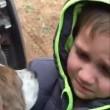Ritrova il cane dopo un mese e scoppia a piangere4