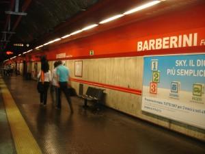 Metro Roma, linea A: fumo in galleria  Barberini, stop linea