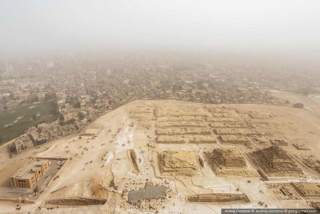 Scala Piramide di Giza a mani nude 10