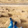 Scala Piramide di Giza a mani nude 4