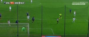 Guarda la versione ingrandita di L'azione del primo gol del Genoa