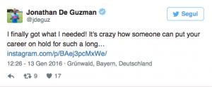 """Guarda la versione ingrandita di Calciomercato Napoli, De Guzman accusa: """"Una follia che…"""""""