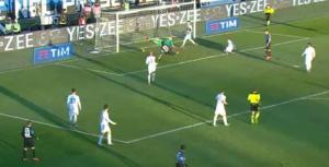 Guarda la versione ingrandita di Handanovic video parata Atalanta-Inter: super su Cigarini