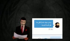 """Guarda la versione ingrandita di Anonymous, individuato """"X"""". Annunciò attacco Isis Firenze"""