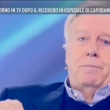 "Claudio Lippi: ""Non ho una casa, ho problemi in banca"" VIDEO"