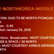 Nord Corea pronta al lancio di missile a lungo raggio