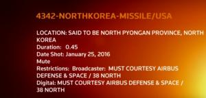 Guarda la versione ingrandita di Corea del Nord pronta al lancio di missile a lungo raggio