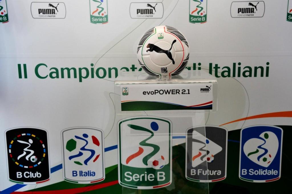 Cesena - Ascoli, il pallone della Serie B nella foto LaPresse