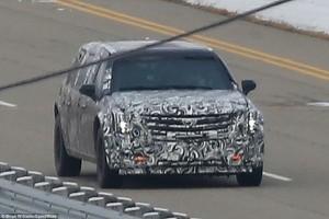 La prima foto della nuova auto presidenziale