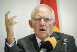 Wolfgang Schaeuble (foto Ansa)