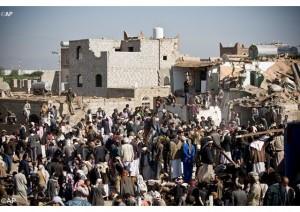 Guarda la versione ingrandita di Yemen, kamikaze Isis contro palazzo presidenziale: 7 morti (Foto Ansa)