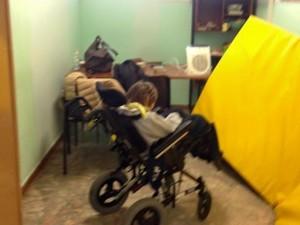 Guarda la versione ingrandita di Roma: disabile nello stanzino FOTO, madre:
